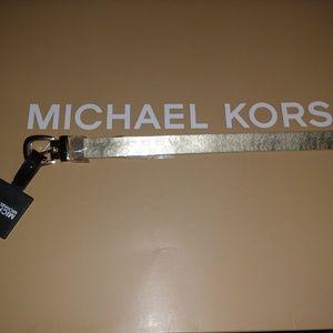 Michael Kors Gold Signature Belt Size Large